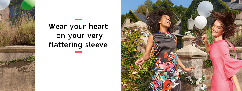 Wear your heart on your very flattering sleeve